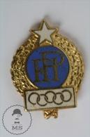 FPI Italian Boxing Federation 1960 Rome Olympic Games - Enamel Pin Badges #PLS - Juegos Olímpicos