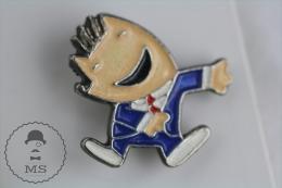 Olympic Games Barcelona 1992 - Cobi Mascot In Blue Suit - Pin Badges #PLS - Juegos Olímpicos