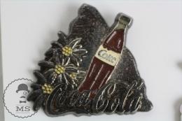 Coca Cola Silver Stone & Flowers Advertising - Pin Badges #PLS - Coca-Cola