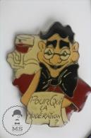 Groucho Marx - Pourqui La Moderation - Pin Badges #PLS - Personajes Célebres