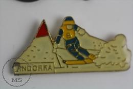 Skiing Andorra - Pin Badges #PLS - Invierno