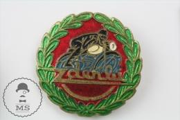 Derbi Old  Motorcycle Pin Badges #PLS - Transportes