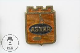Askar Old Music Advertising Pin Badges #PLS - Transportes
