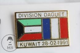 Division Daguet Kuwait 1991 - Military Pin Badge #PLS - Militares