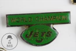 NY Jets Basseball Team World Champion - Pin Badge #PLS - Béisbol