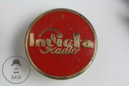 Old Invicta Radio Logo - Pin Badge #PLS - Marcas Registradas