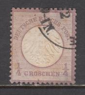 1872    MICHEL  Nº 1 - Deutschland