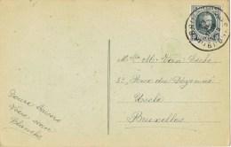 13169. Postal BRUGGE (Belgien) 1925 To UCCLE - Bélgica