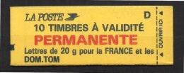 France Carnet Usage Courant N° 2806 C1 Daté Neuf  XX   , Cote  25,00  Euros Au Tiers De Cote - Usage Courant