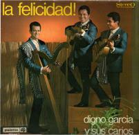 * LP *  DIGNO GARCIA Y SUS CARIOS - LA FELICIDAD! (Holland 1968 Mint!!!) - Andere - Spaans