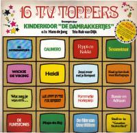 * LP *  16 T.V. TOPPERS - De DAMRAKKERTJES - Kinderen