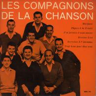 """* 7"""" LP *  LES COMPAGNONS DE LA CHANSON (Holland 196? EX!!!) - Vinylplaten"""