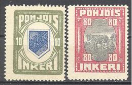 Ingrie: Yvert N° 8 Et 11*; Voir Le Scan - Finland
