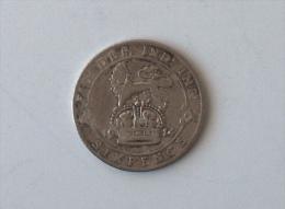 UK GRANDE BRETAGNE SIX 6 PENCE 1914 ARGENT SILVER - 1902-1971 : Monnaies Post-Victoriennes