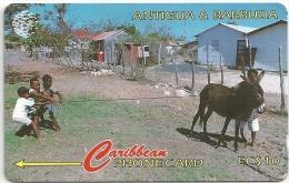 Antigua & Barbuda - Kids At Play - 17CATA - 1995, 60.000ex, Used - Antigua And Barbuda