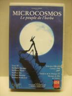 K7 CASSETTE VIDEO VHS Secam : MICROCOSMOS Le Peuple De L'Herbe - Documentaires