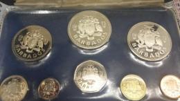 BARBADOS PROOF SET 1973 8 COINS - Barbados