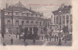 Italy Milano Piazza della Scala