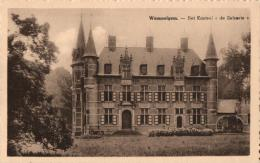 "BELGIQUE - ANVERS - WOMMELGEM - Het Kasteel  ""de Selsaete"". - Wommelgem"