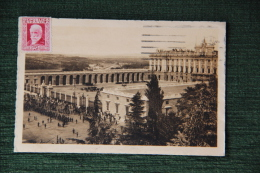 MADRID - Palacio Nacional Y Plaza De Armeria ( Antiguo Relevo De La Guardia ). - Madrid