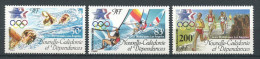 Nlle CALEDONIE 1984 PA N° 240/242 **  Neufs = MNH Superbes Cote 14.60  €  JO De Los Angeles Natation Planche Voile - Nueva Caledonia