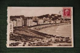 SAN SEBASTIAN - Jardines Alderdi Eder Y Playa - Guipúzcoa (San Sebastián)