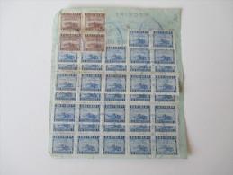 China 1948. Rechnung. Receipt. Schöne Frankatur! Macenzie & Co. Limited. Pootung Wharf. Landing Account.  Toller Beleg.