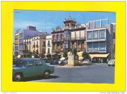 ..... Postcard SPAIN ESPAÑA BADAJOZ EXTREMADURA Cars Car 60s - Badajoz