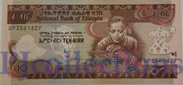ETHIOPIA 10 BIRR 2006 PICK 48d UNC - Ethiopie