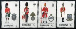 1971 GIBILTERRA SERIE COMPLETA 4 VALORI NUOVA** - Gibilterra