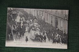 """MONTPELLIER - Arrivée Du Seigneur """" La Gaule """" à MONTPELLIER Le 14 Février 1909 - Montpellier"""