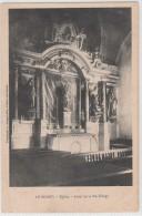 LE BODEO - église Autel De La Ste Vierge - France