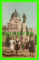 MONTRÉAL, QUEBEC - L'ORATOIRE SAINT-JOSEPH DU MONT-ROYAL EN 1924 - ANIMÉE - - Montreal