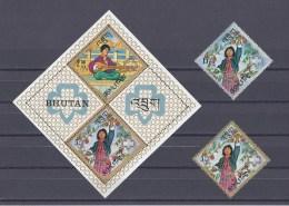 BHOUTAN. Guide Du Bhoutan. Musique Et Récolte - Bhutan