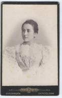 Photographie Ancienne, CDV, J.E. Puig (Barcelone, Espagne), Portrait Femme, Mode, Costume - Photographs