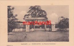 Afrique Dahomey Porto Novo Le Palais Du Gouverneur Editeur E.R.n°32 - Dahomey