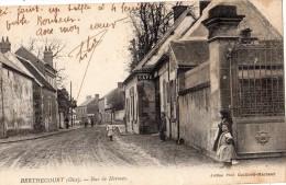 BERTHECOURT RUE DE HERMES ANIMEE - Francia