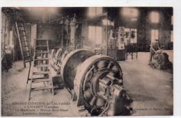 Cpa  14  Livarot , Grande Cidrerie Du Calvados, , La Machinerie , Moteur Semi-diesel , Installation Electrique - Livarot