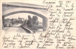 36 Indre SAINT St GAULTIER  (- Cpa DOS SIMPLE Année 1902  - Editions Sageret Guilloiseau) - France