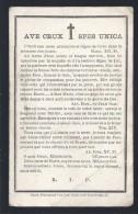 DOODSPRENTJE GOETHALS ( DANNEEL ) ° KORTRIJK 1801 + 1897 - Images Religieuses
