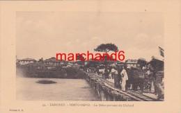 Afrique Dahomey Porto Novo Le Débarquement Du Chaland Editeur E.R.n°31 - Dahomey