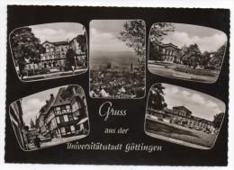 Allemagne--GOETTINGEN--1964--Gruss Aus Der Goettingen Universitatsstadt--Multivues,cpsm 15 X 10 éd R.Karstadt AG - Goettingen