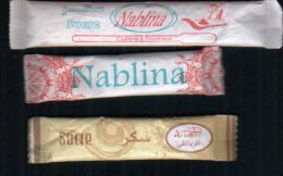 Algerie-3 Emballages De Sucre  Plein. - Sugars
