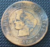 5 CENTIMES CERES 1888 A  A VOIR PETIT PRIX !!! - C. 5 Centimes