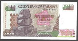 ZIMBABWE :  500 Dollars  - 2001 - UNC - Zimbabwe