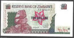 ZIMBABWE :  10 Dollars  - 1997 - UNC - Zimbabwe