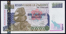 ZIMBABWE :  1000 Dollars  - 2003 - UNC - Zimbabwe