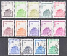 R. O. CHINA  1391-1404   *   (o) - Unused Stamps