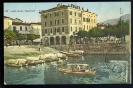 Cpa D´ Italie Luino - Lago Maggiore - Porto  FRM 11 - Luino