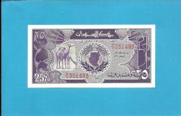 SUDAN - 25 PIASTRES - 1987 - P 37 - REPLACEMENT  Z/1 - UNC. - 2 Scans - Soudan
